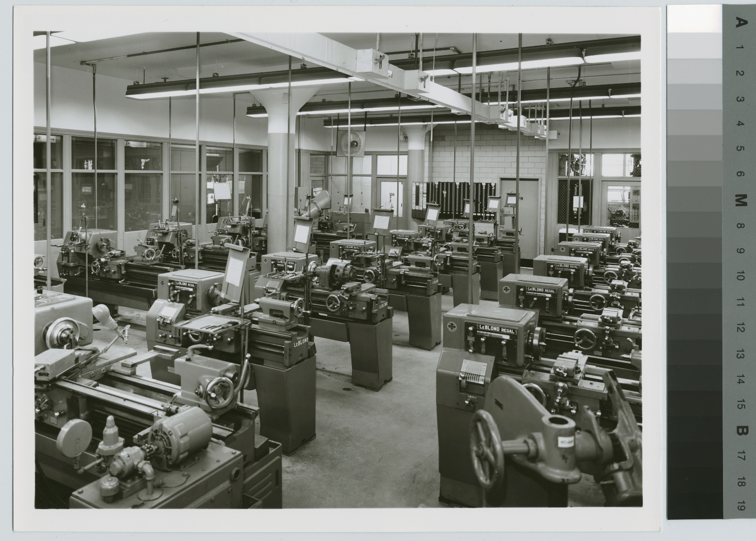 Equipment room, Mechanical Department, George H. Clark Building, Rochester Institute of Technology