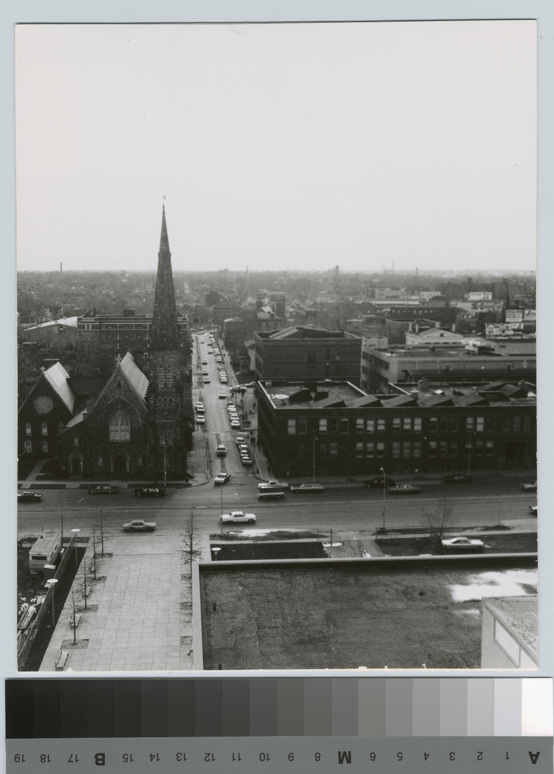 Downtown campus and First Presbyterian Church, Rochester Institute of Technology