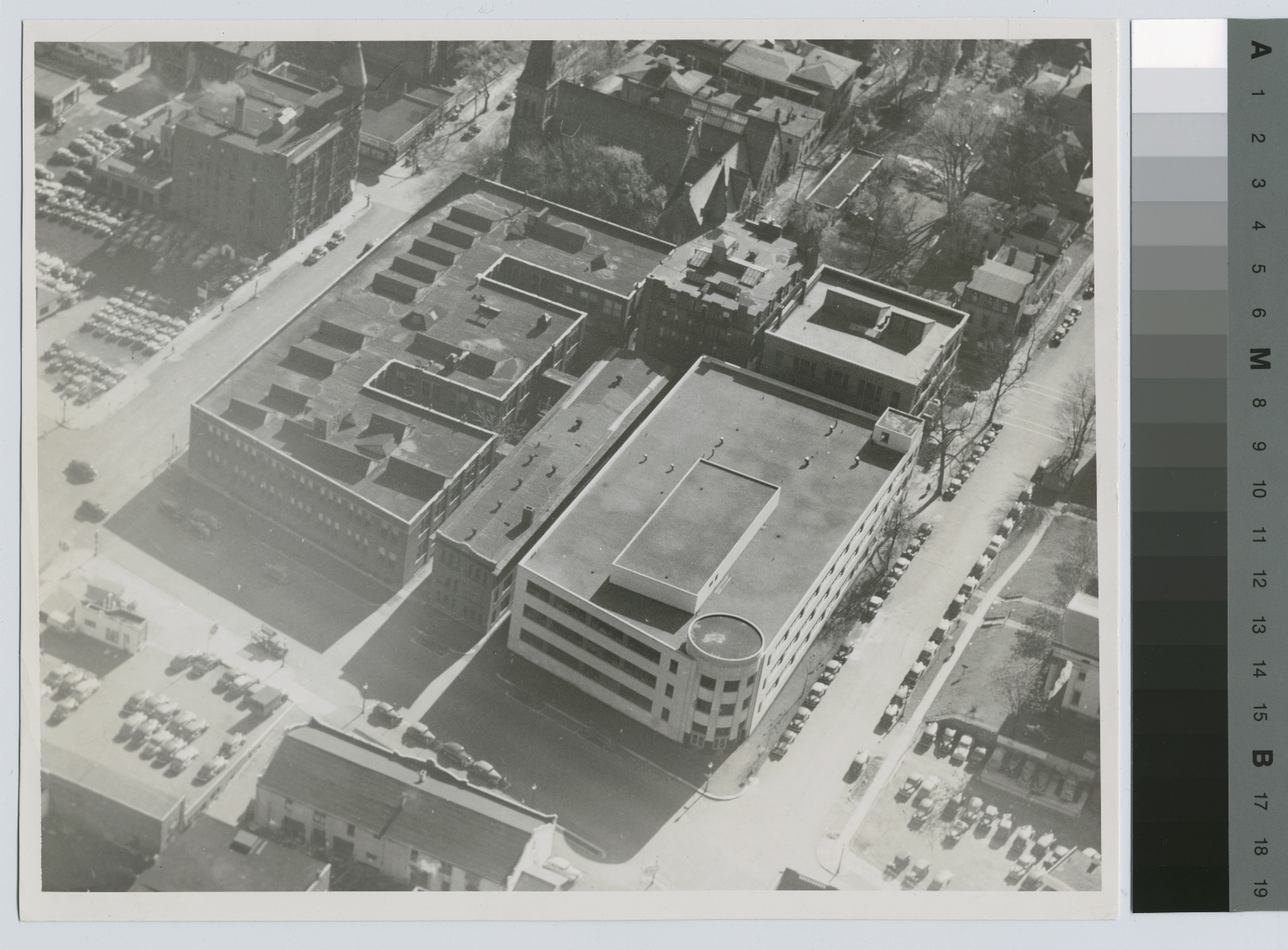 Aerial view, Downtown Campus, Rochester Institute of Technology