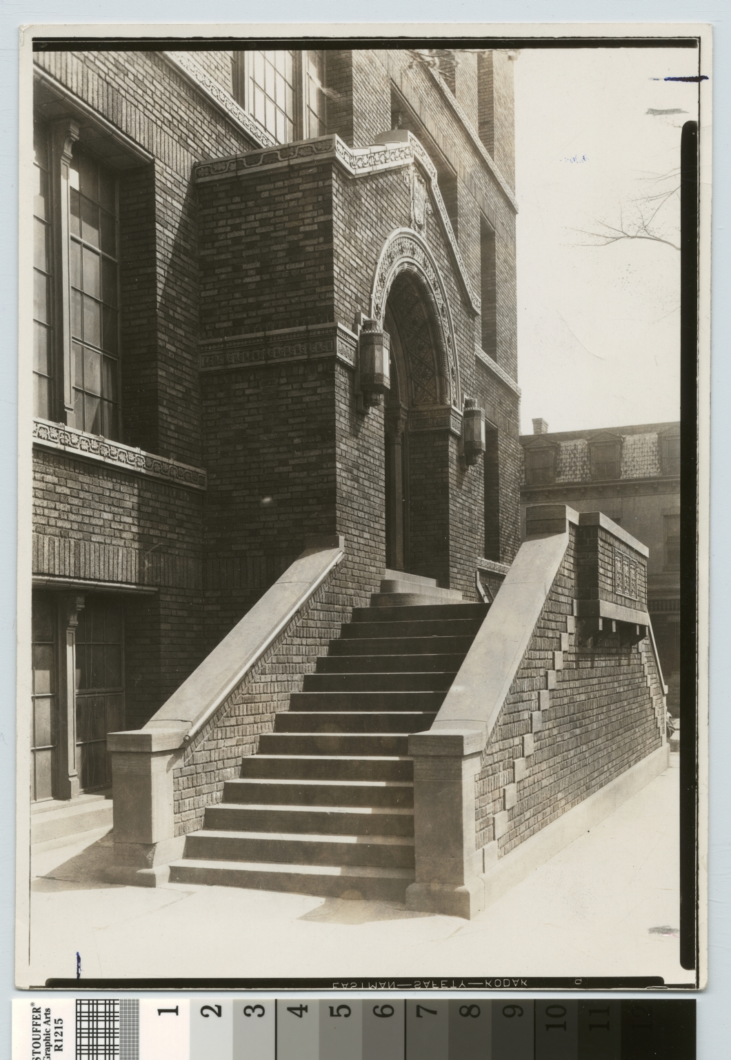 Entrance, Bevier Memorial Building, Rochester Athenaeum and Mechanics Institute