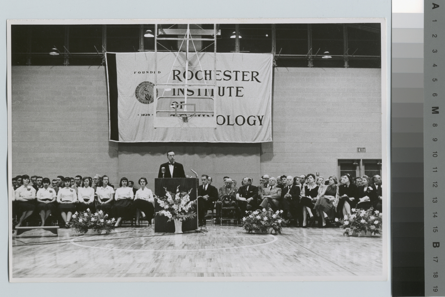 Dedication, Ritter-Clark Memorial Building and Ice Arena, Rochester Institute of Technology