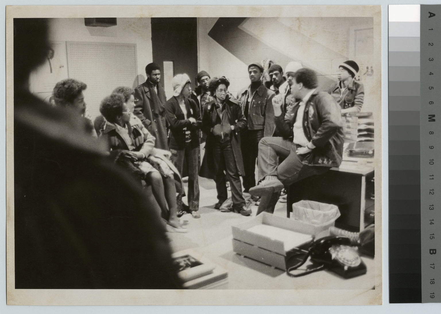 Unidentified students, Black Awareness Coordinating Committee, Rochester Institute of Technology