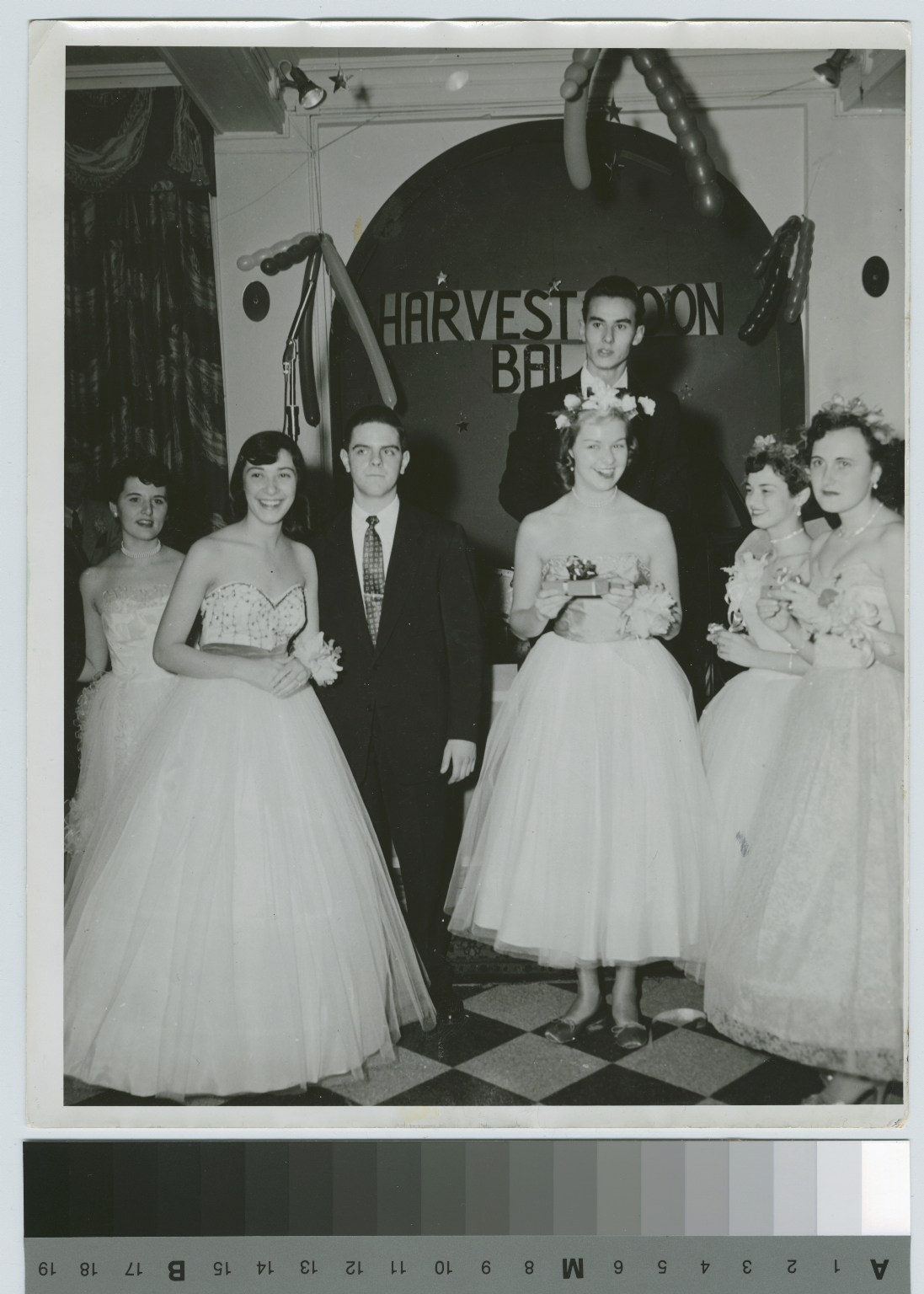 Unidentified students at Harvest Moon Ball, Rochester Institute of Technology
