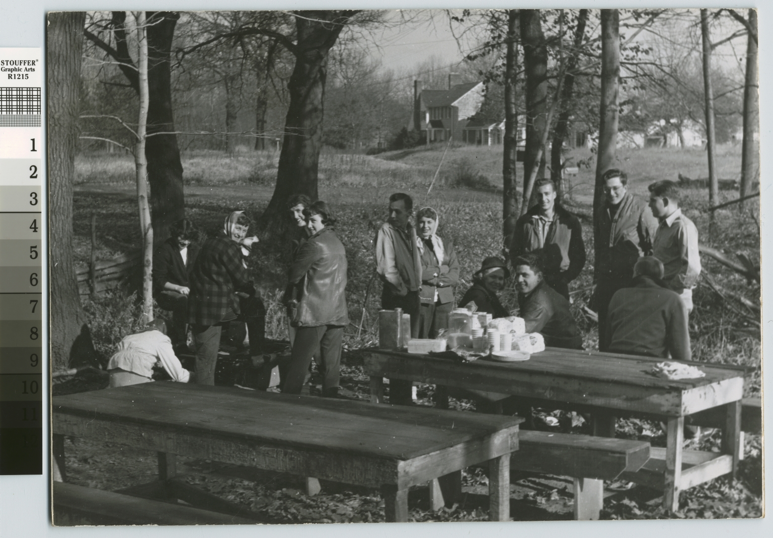 Picnic, Rochester Institute of Technology students at local park