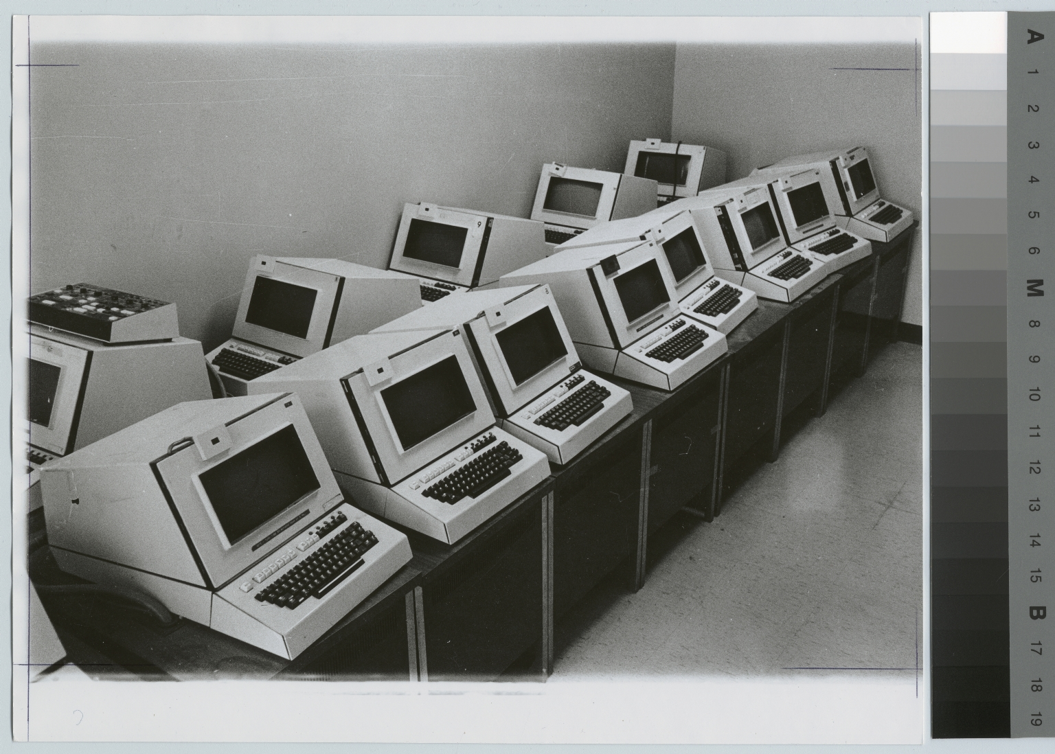 Computer stations, Department of Computer Science, Rochester Institute of Technology