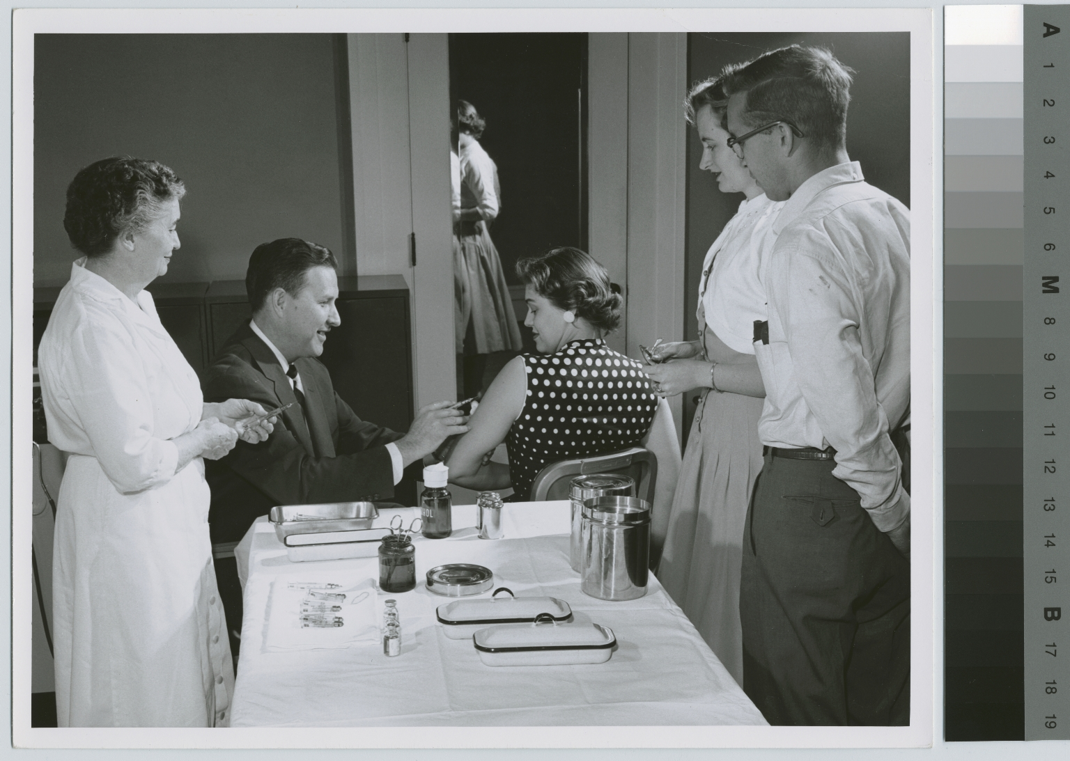 Students receiving healthcare, Student Health Center, Rochester Institute of Technology