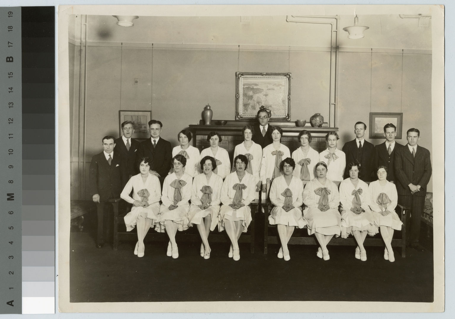 Academics, class photo, group portrait of Rochester Athenaeum and Mechanics Institute students, [1920-1930]