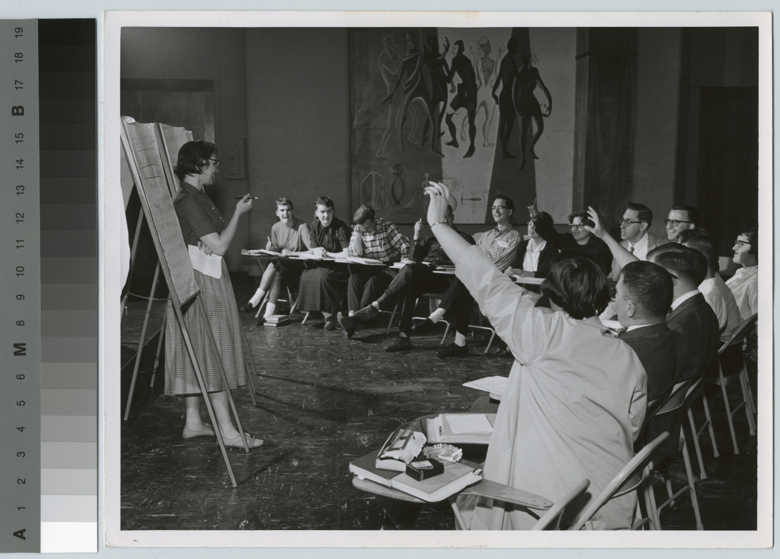 Public speaking class, Rochester Institute of Technology [1950-1959]