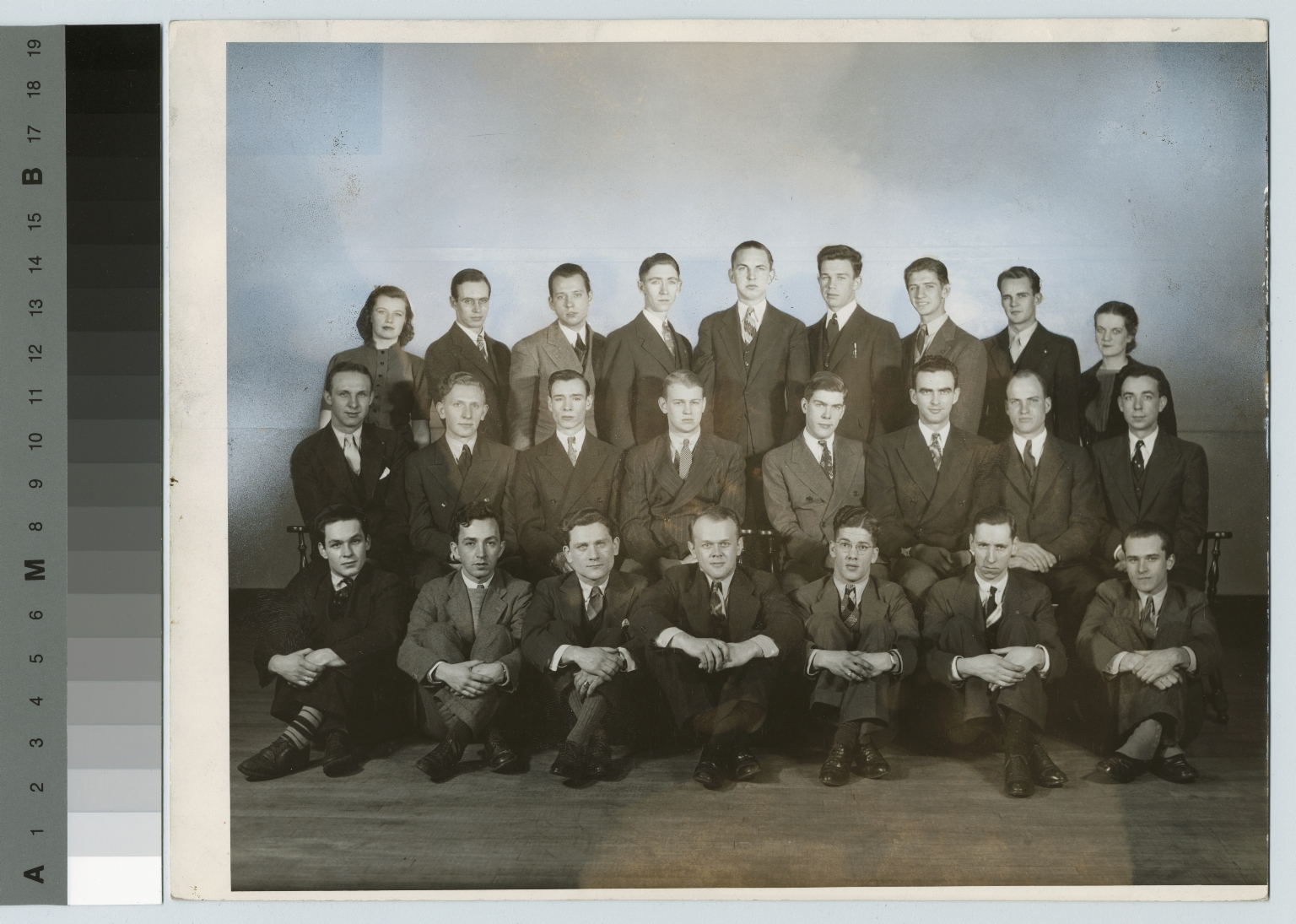 Yearbook group portrait, Department of Photographic Technology, Rochester Institute of Technology