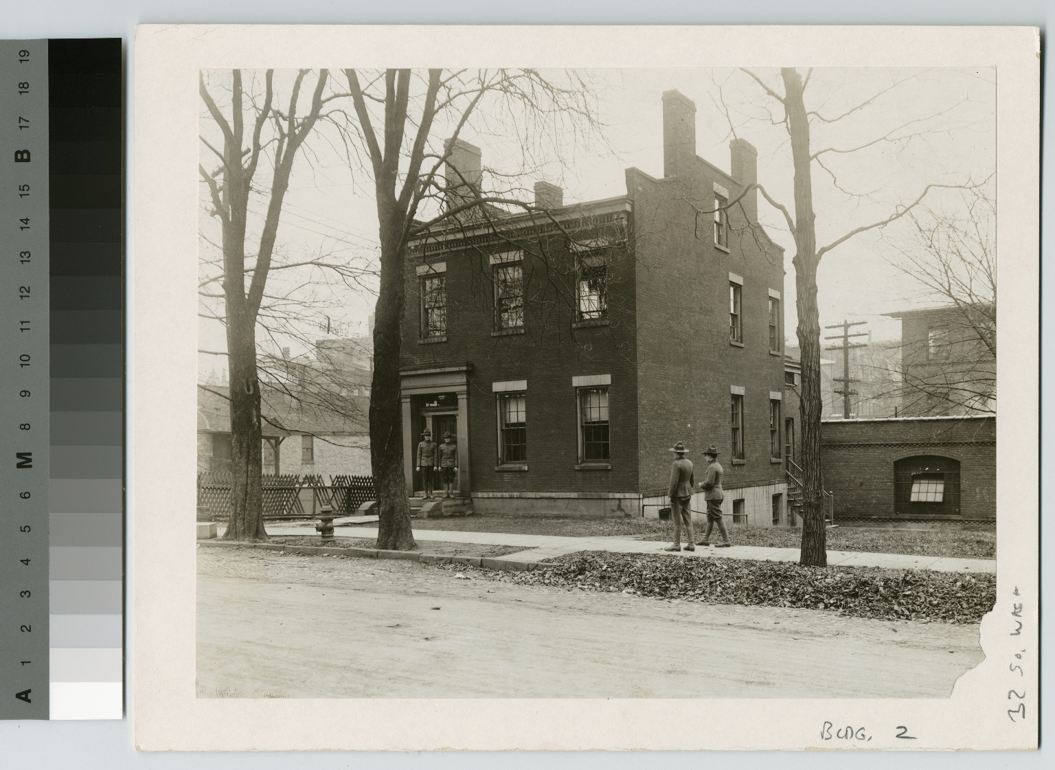 World War I soldiers at Guest House, Rochester Athenaeum and Mechanics Institute