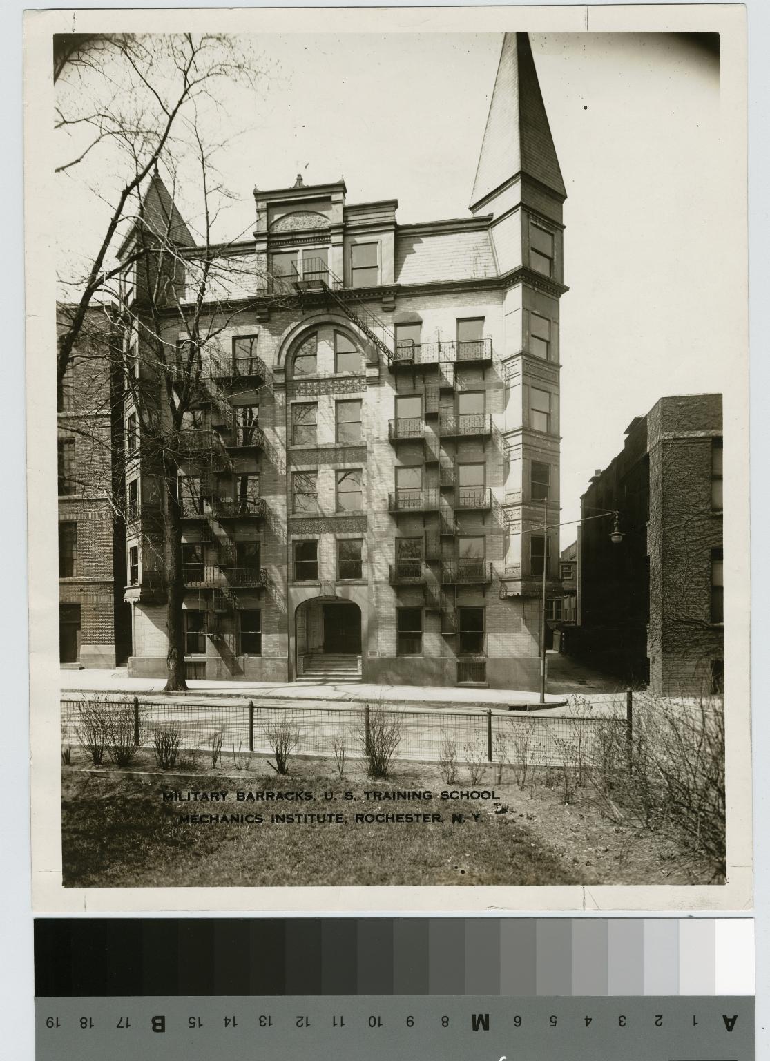 Military Barracks, Rochester Athenaeum and Mechanics Institute