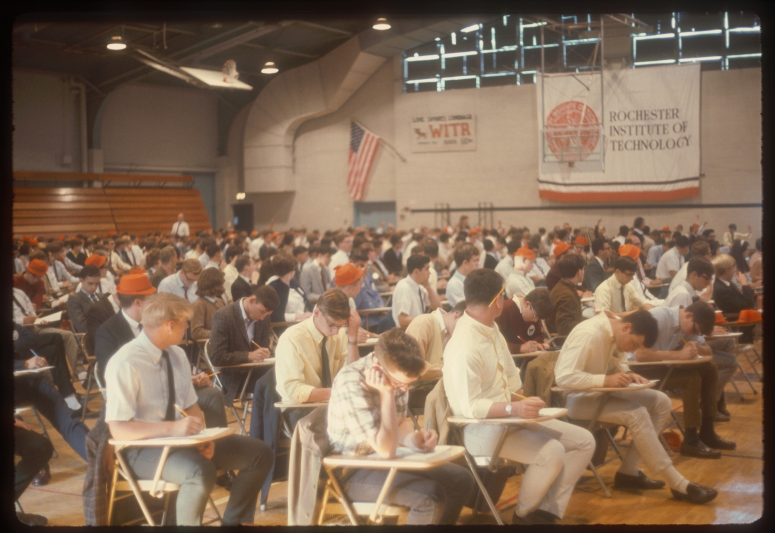 Rochester Institute of Technology student orientation