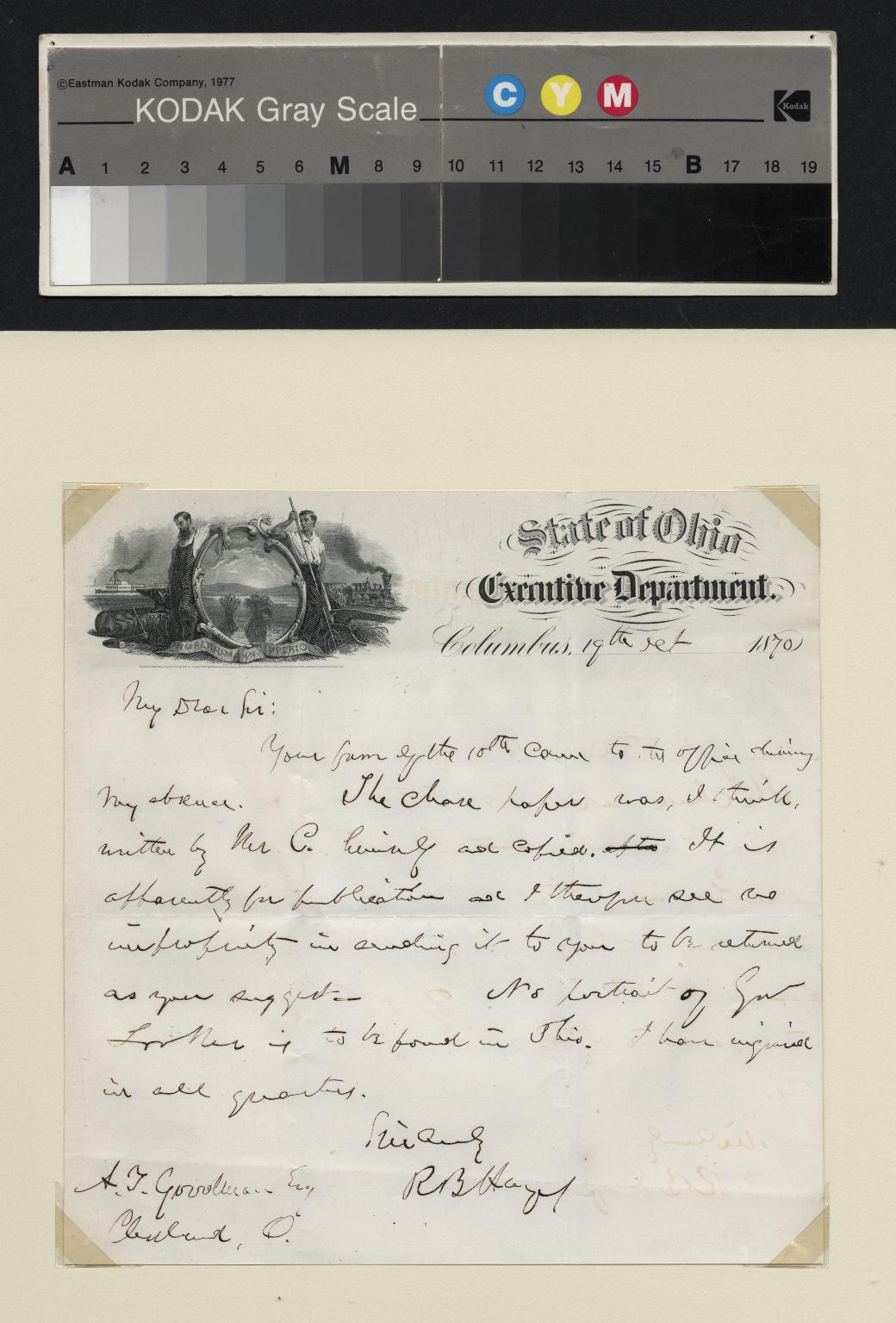 Hayes letter