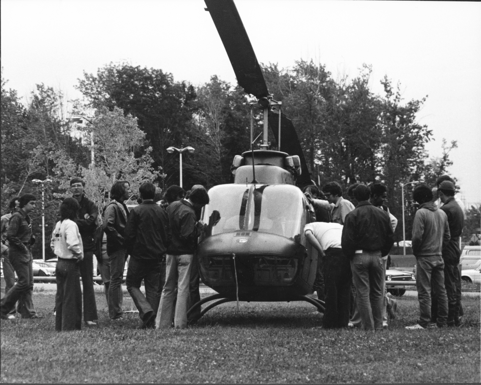 Student Orientation, Helicopter