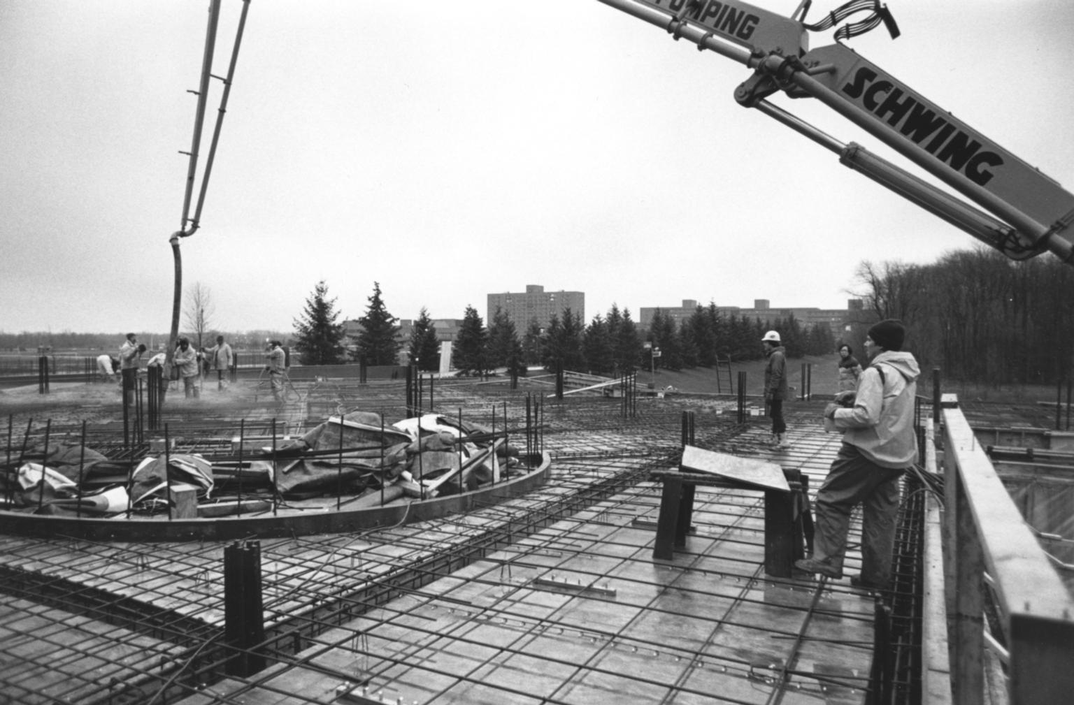 Kilian J. and Caroline F. Schmitt Interfaith Center Construction Site