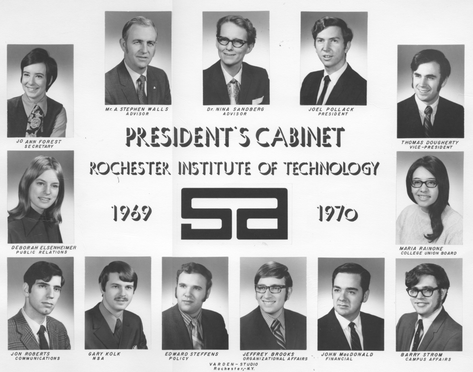 1969-1970 SA President's Cabinet