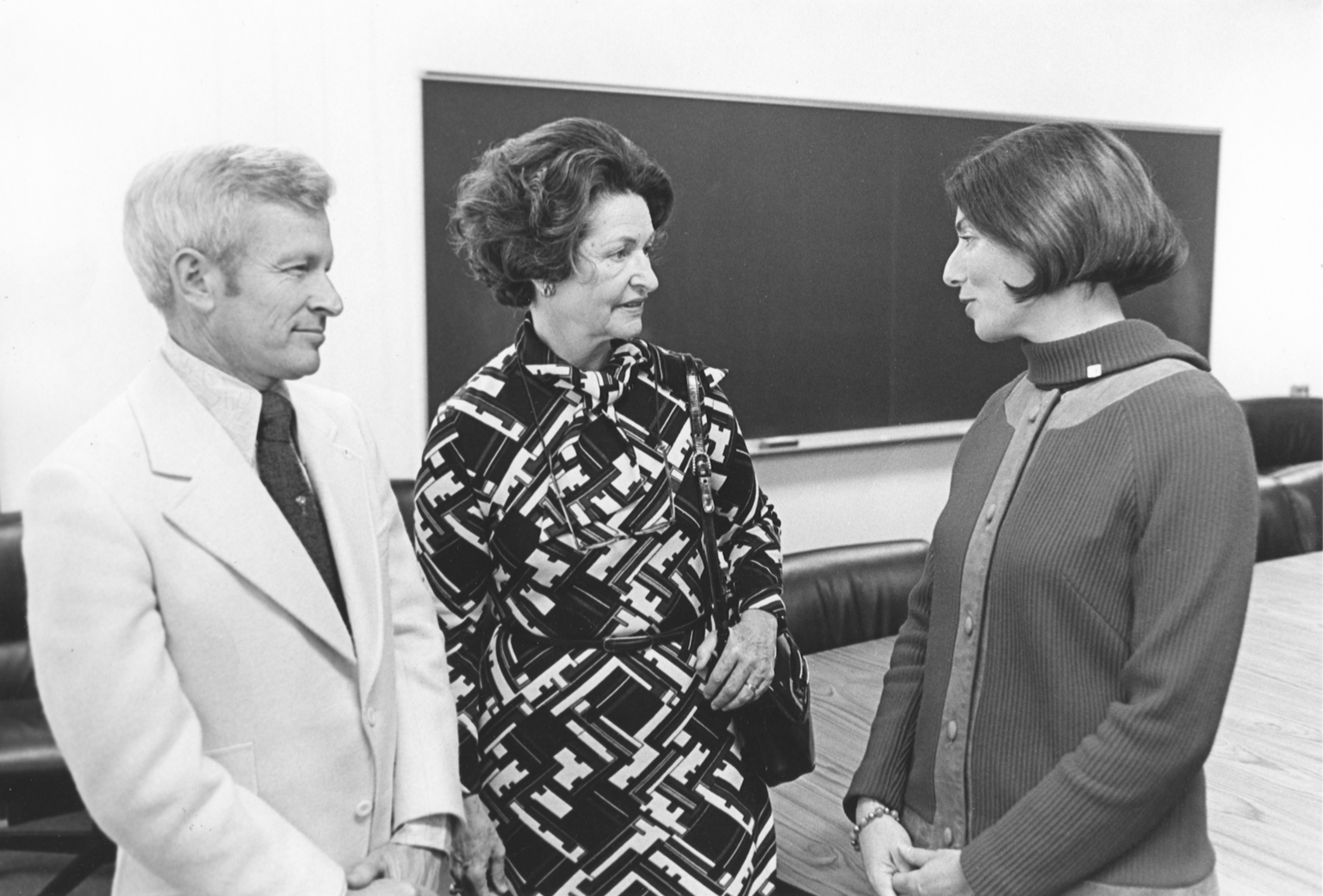 William and Diane Castle with Lady Bird Johnson