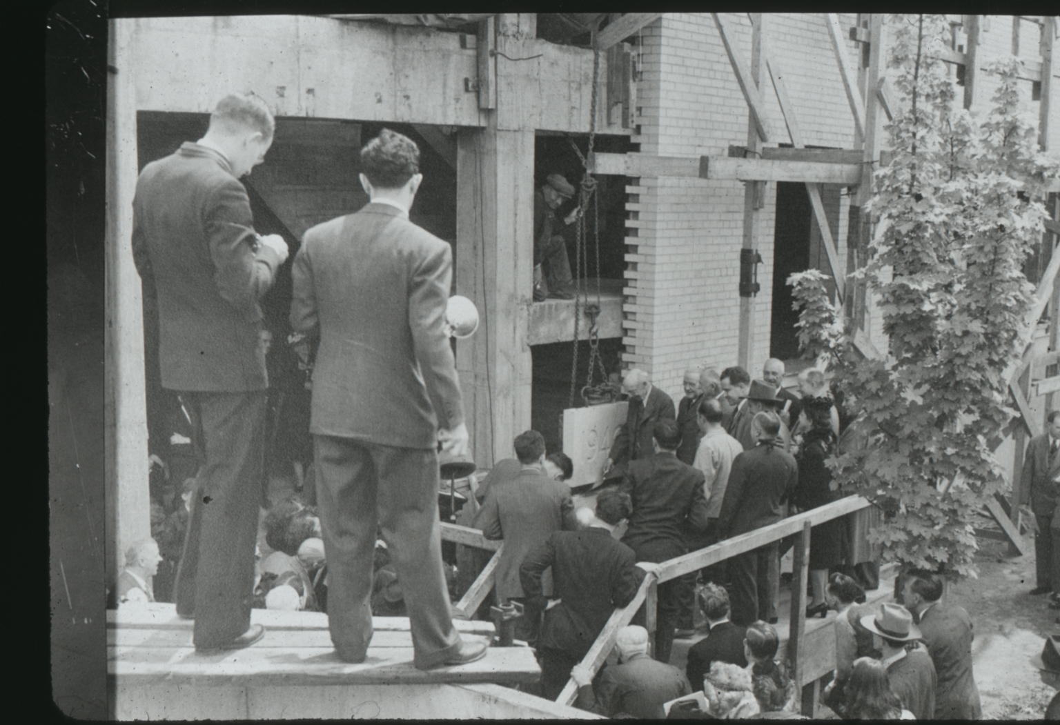George H. Clark Cornerstone Ceremony