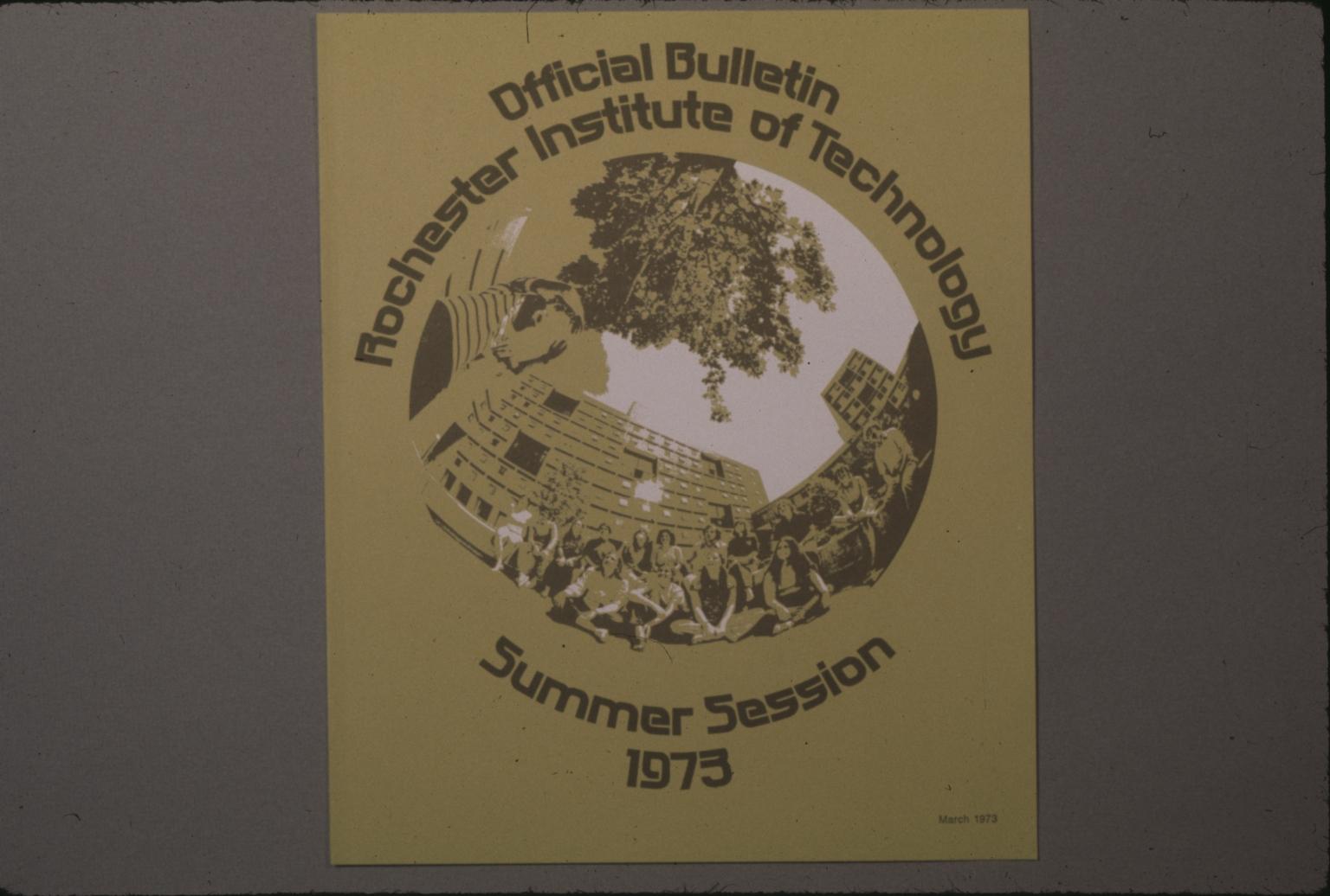 Summer Session Bulletin cover