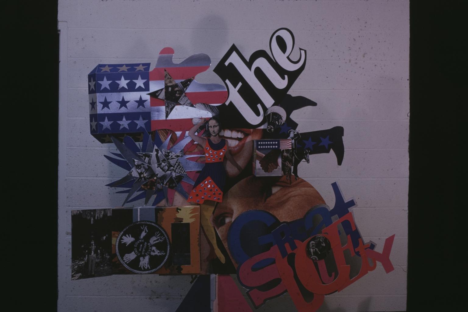 Unidentified Student Artwork (Detail)