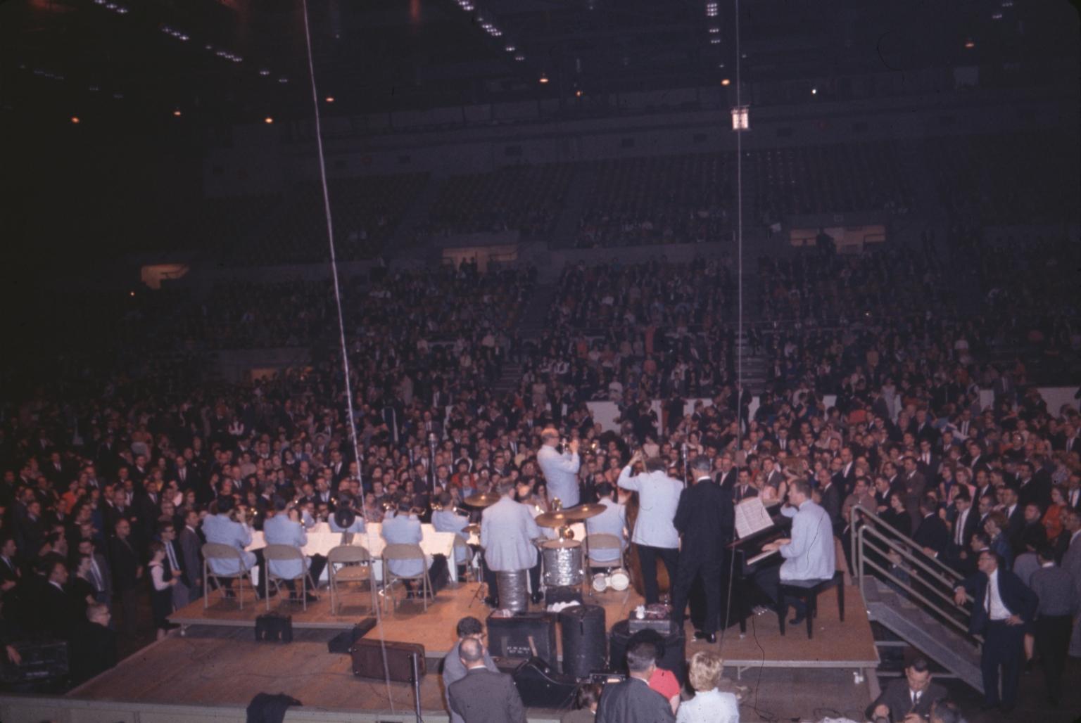 Concert at Rochester's War Memorial