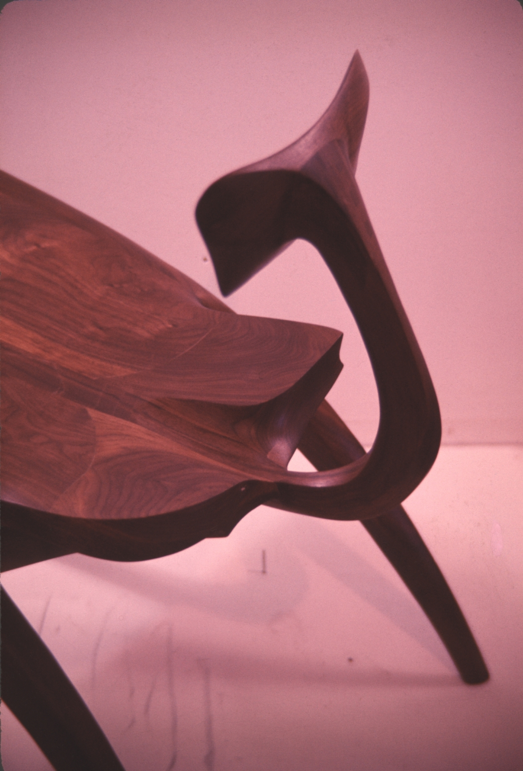 Close Up of Decorative Bench