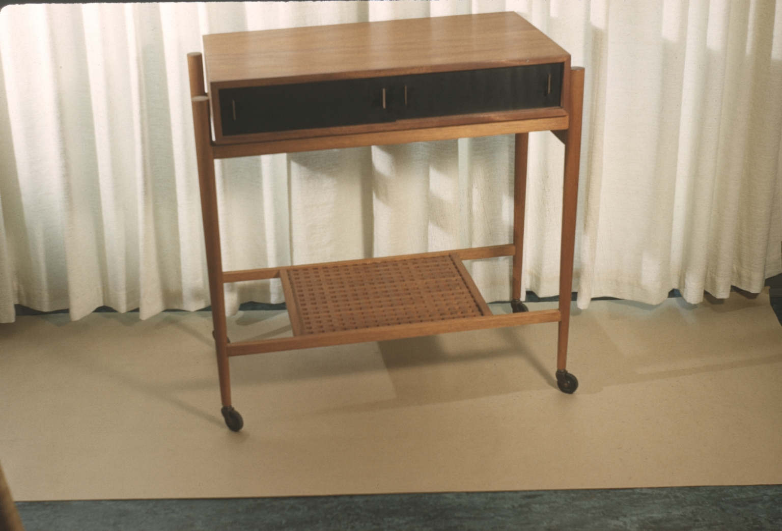 Wood Serving Table