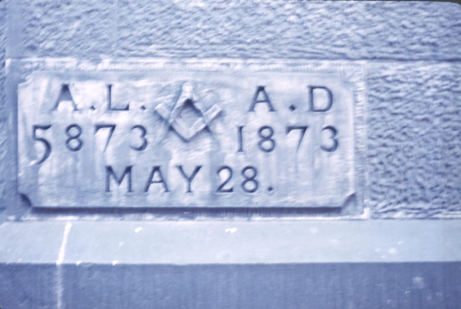 Building plaque