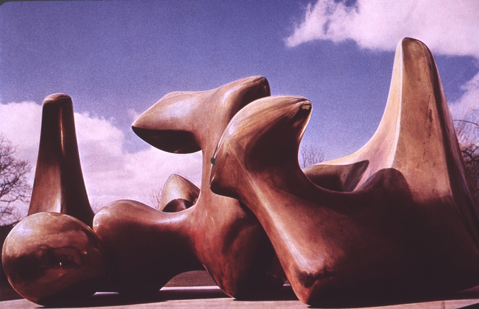 Abstract sculpture in three pieces