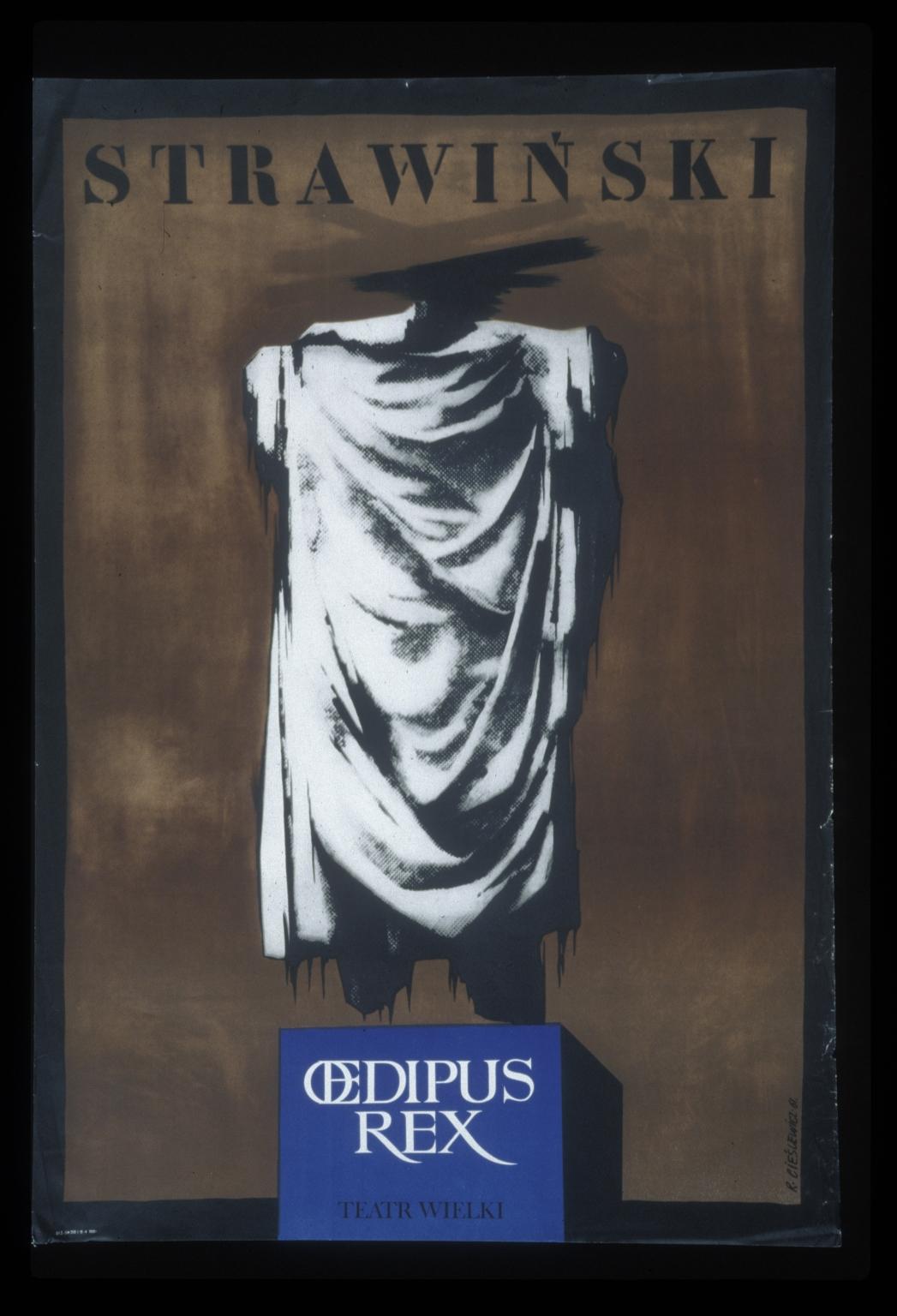 Strawinski, Oedipus rex: Teatr Wielki