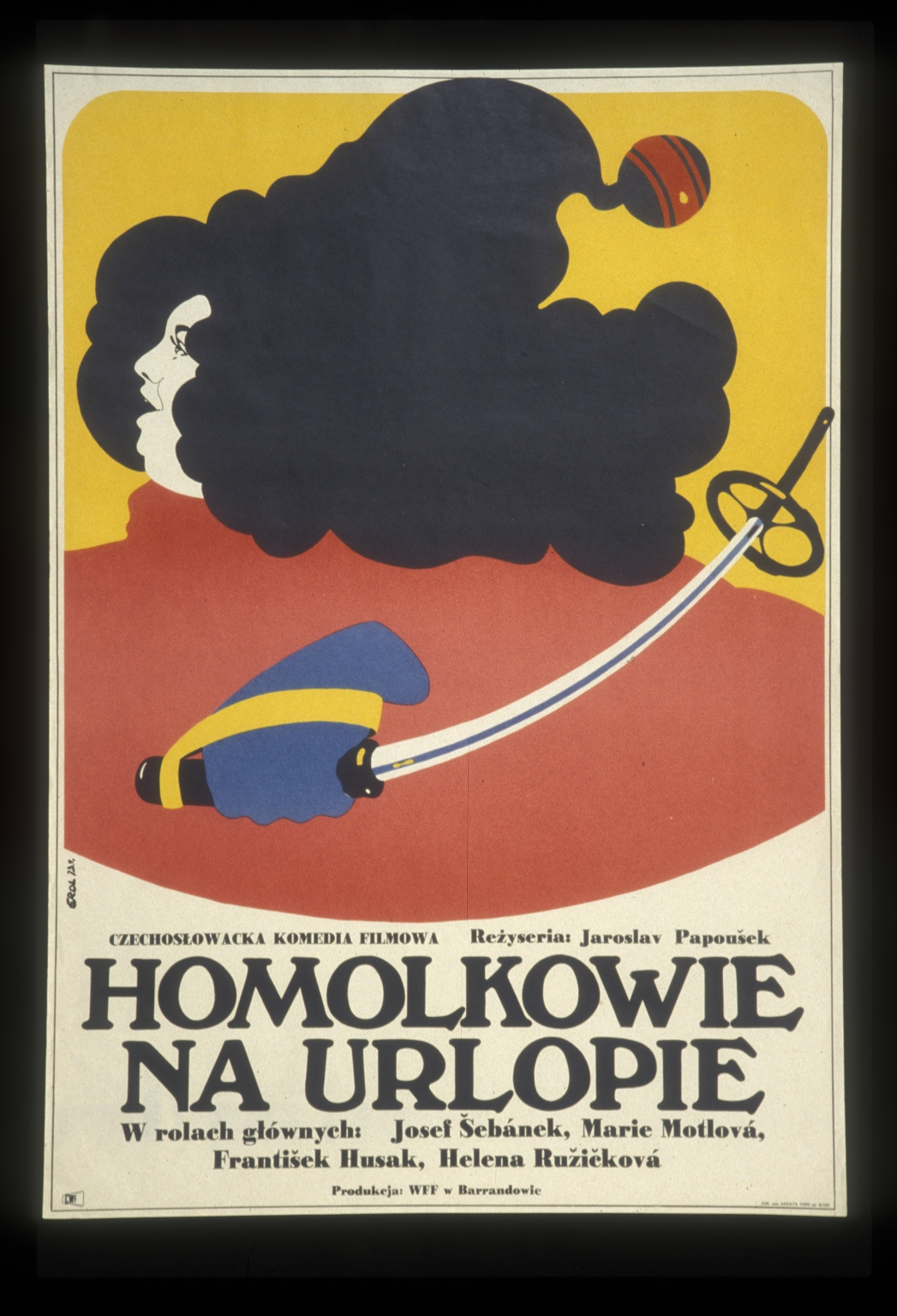 Homolkowie na urlopie: czechoslowcka komedia filmowa