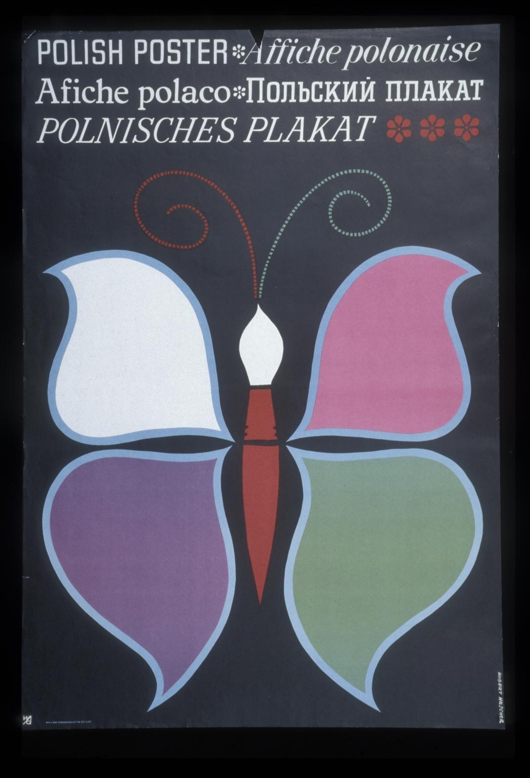 Polish poster: Affiche polonaise = Afiche polaco = Polskii plakat = Polnisches Plakat