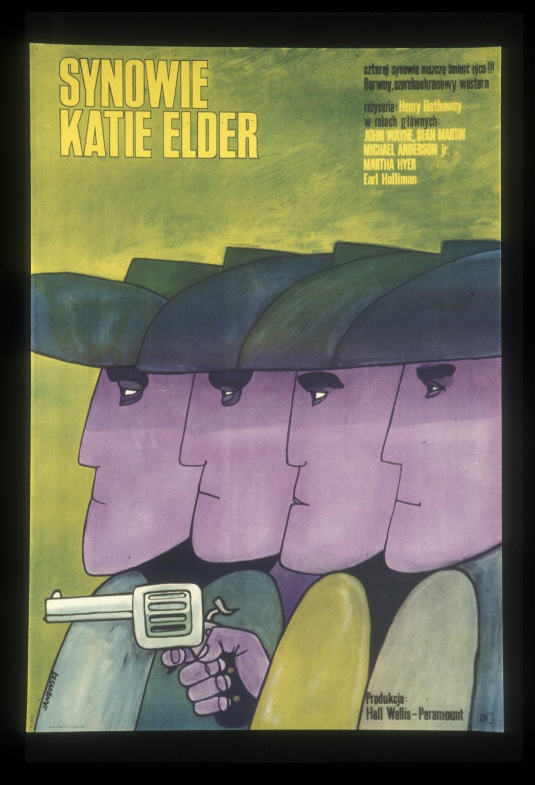 Synowie Katie Elder: czterej synowie mszcza smiercojca : barwny szerokoekranowy western