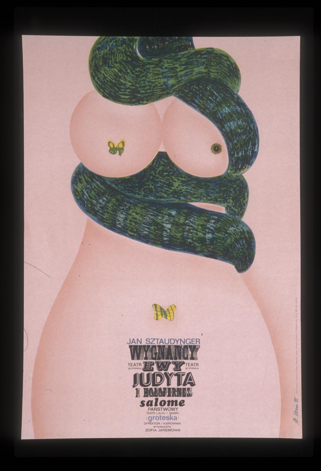 """Wygnancy Ewy, Judyta i Holafernes, Salome: Panstwowy Teatr Laki i Maski """"Groteska"""" : dyrektori kierownik artystyczny Zofia Jaremowa"""