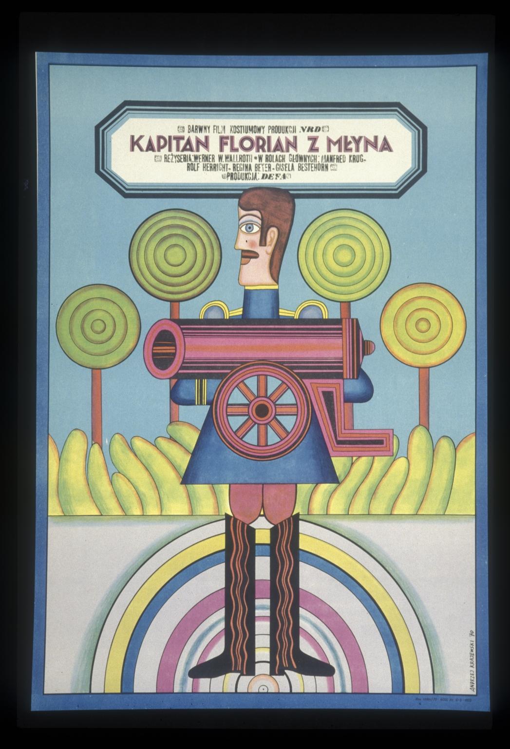 Kapitan Florian z Mlyna: barwny film kostiumowy produkcji NRD