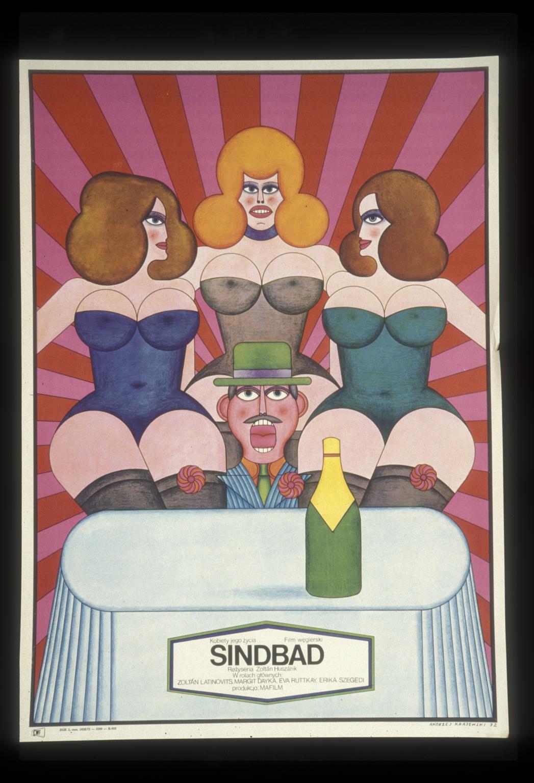 Sinbad: kobiety jego zycia : film wegierski