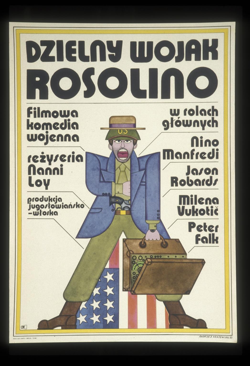 Dzielny Wojak Rosolino: filmowa komedia wojenna
