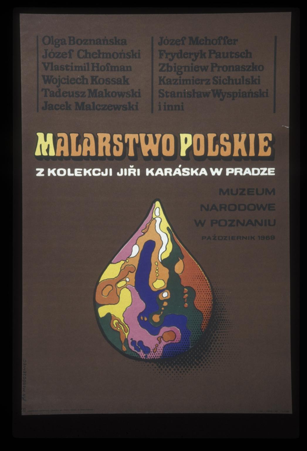 Malarstwo polskie z kolekeji Jiri Kraska w Pradze: Muzeum Narodowe w Poznaniu, pazdziernik 1969