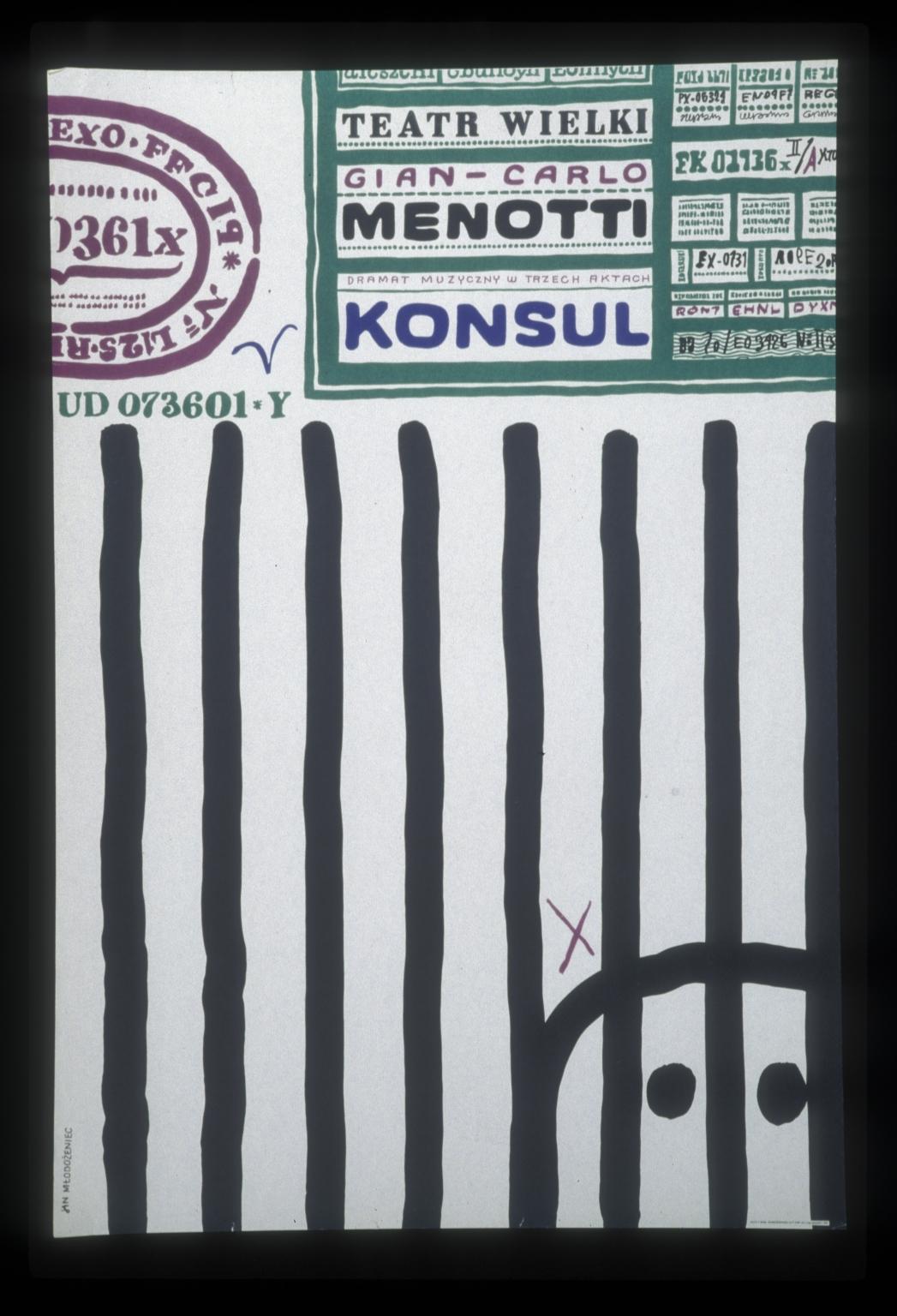 Konsul, dramat muzyczny w trzech aktach, Gian-Carlo Menotti: Teatr Wielki
