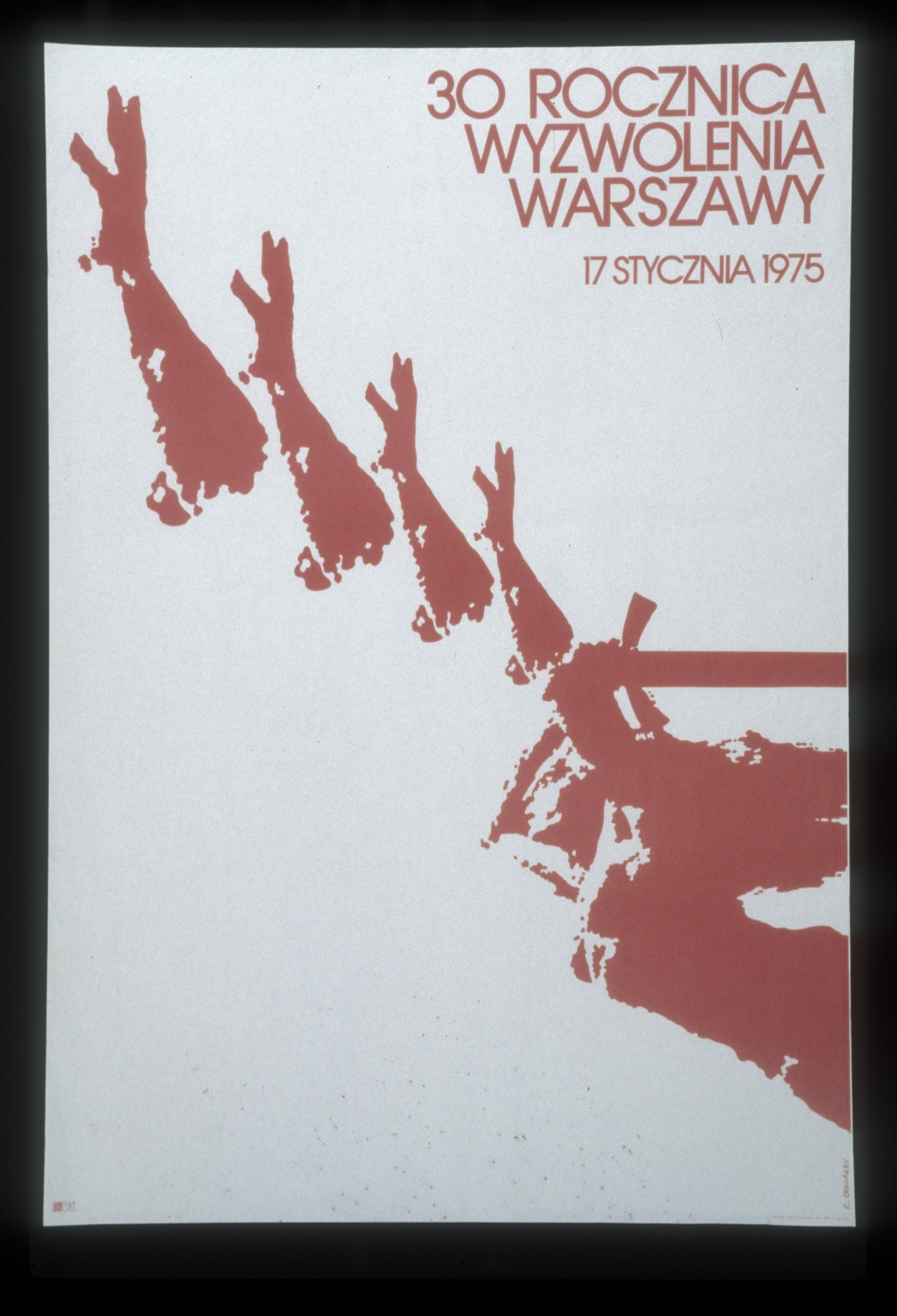 30 rocznica wyzwolenia Warszawy, 17 stycznia 1975