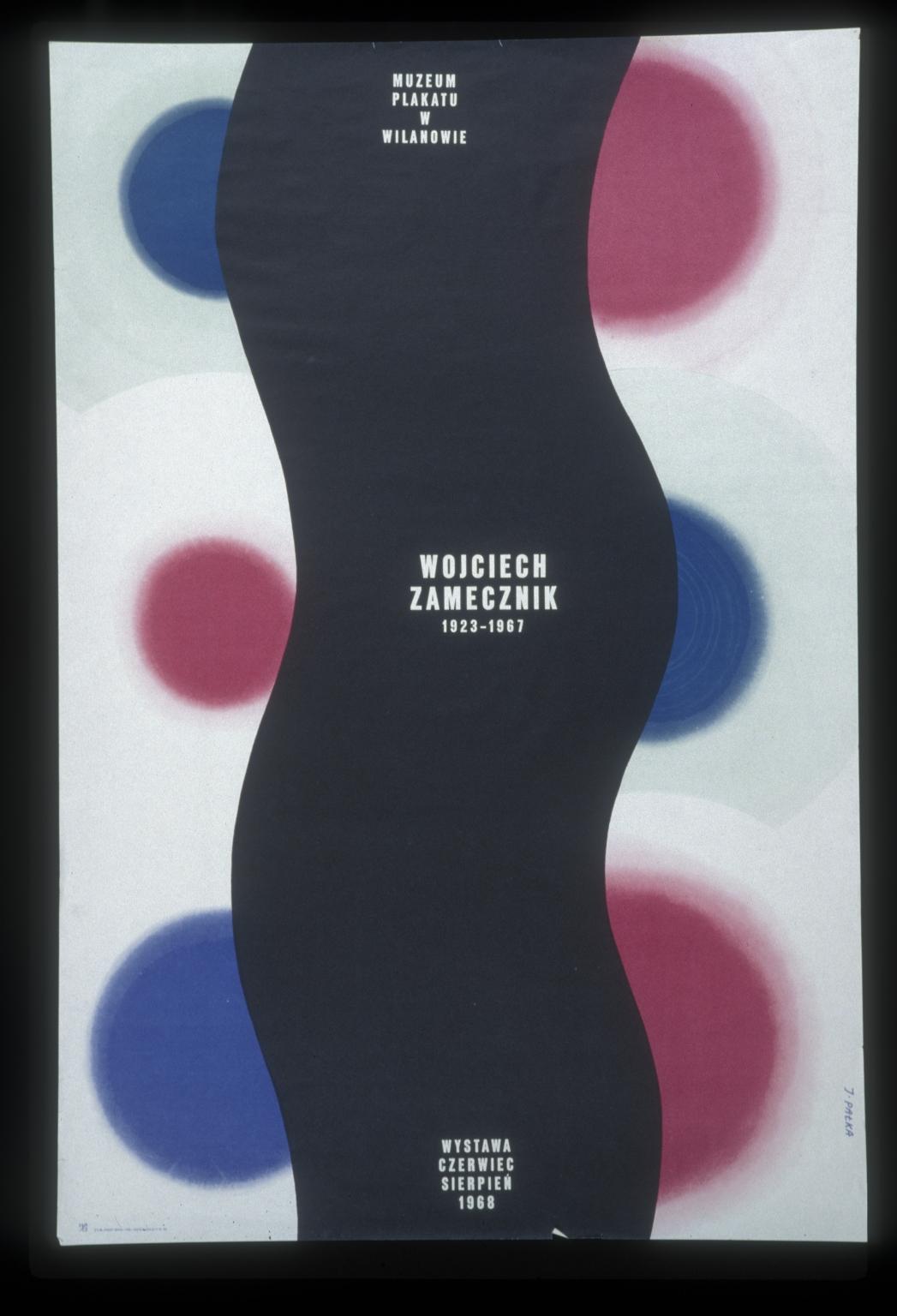 Wojciech Zamecznik, 1923-1967: wystawa, czerwiec-sierpien1968, Muzeum Plakatu w Wilanowie
