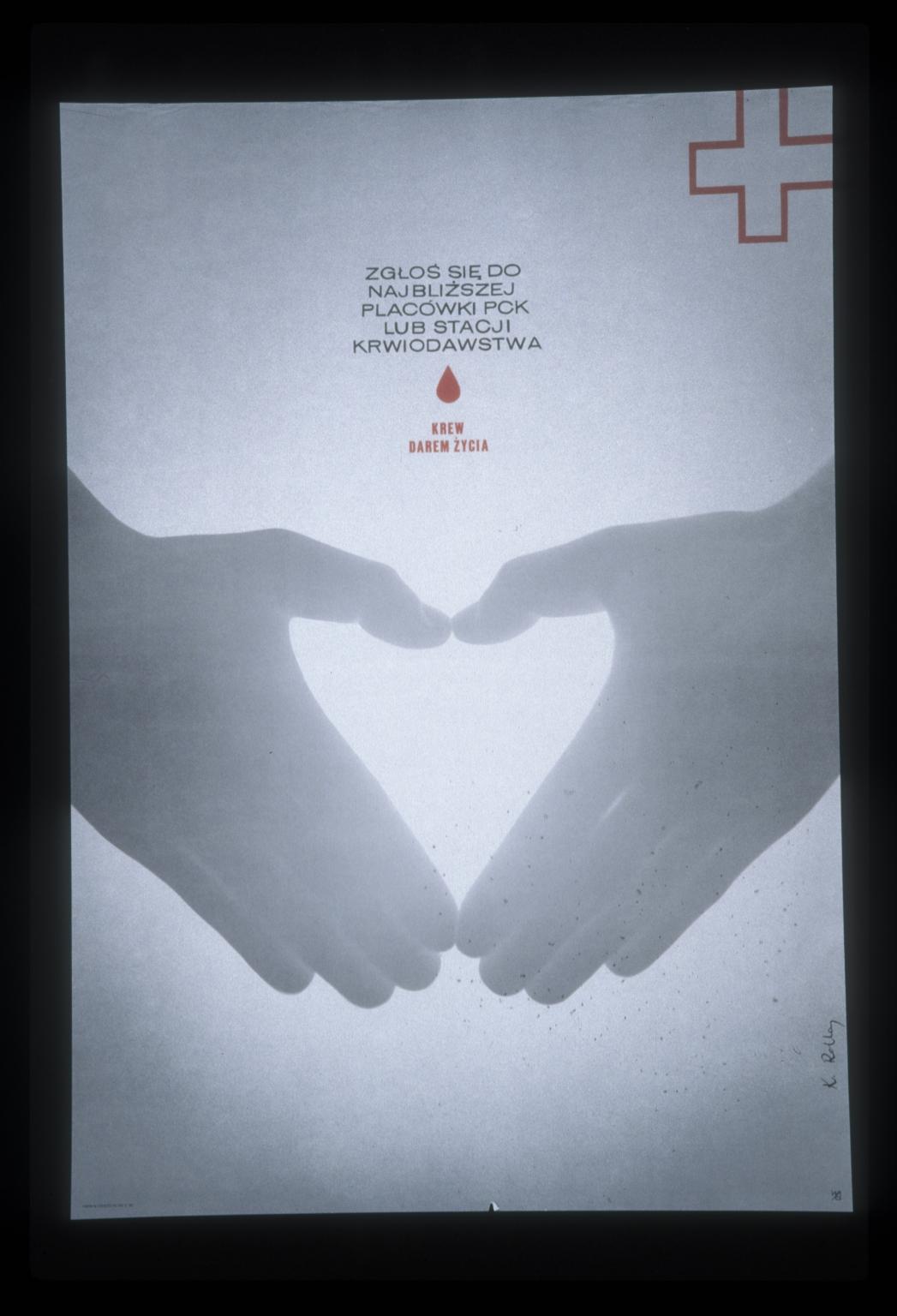 Krew, darem zycia: sglos sie do najblizszej lub stacji krwiodawstwa