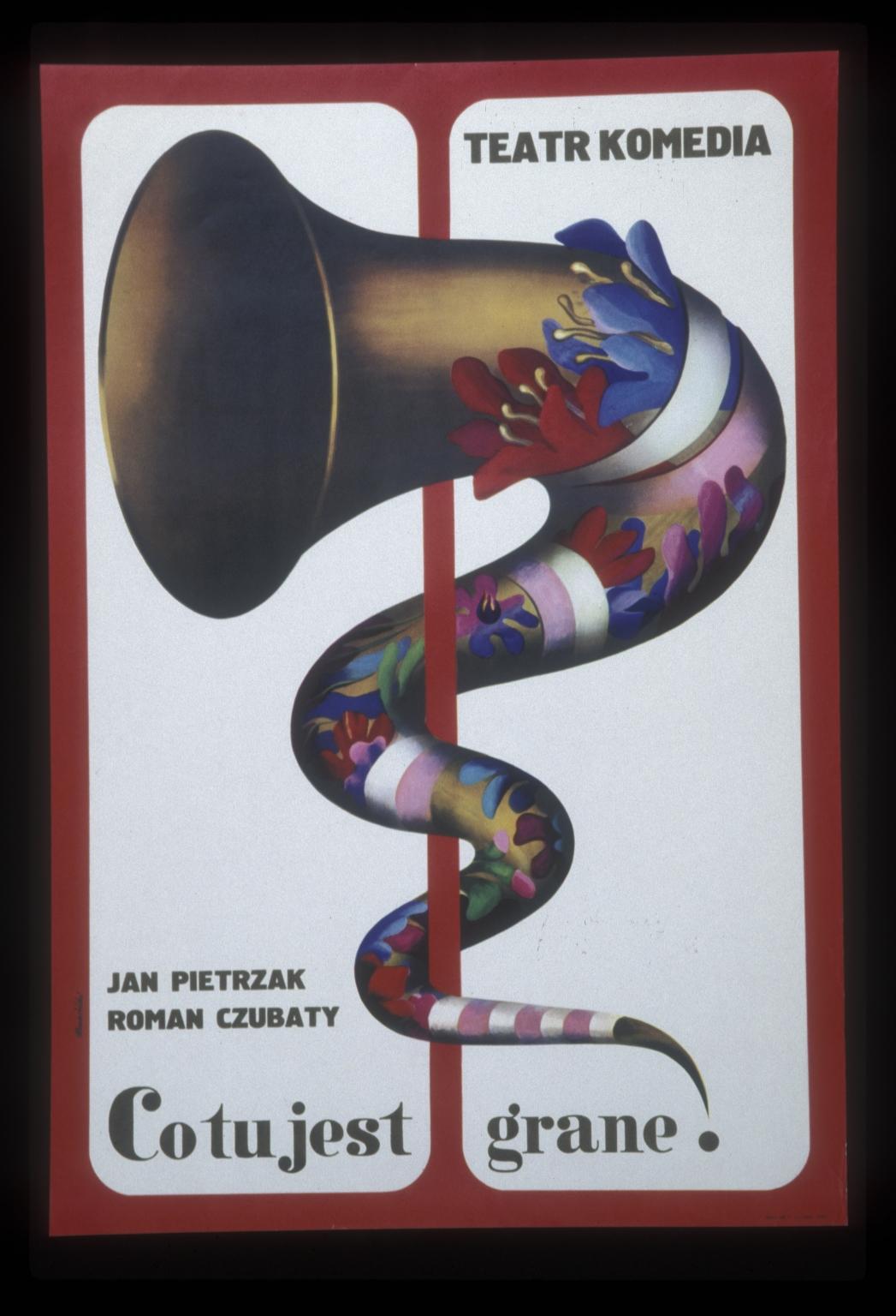 Co tu jest grane: Teatr Komedia : Jan Pietrzak, Roman Czubaty