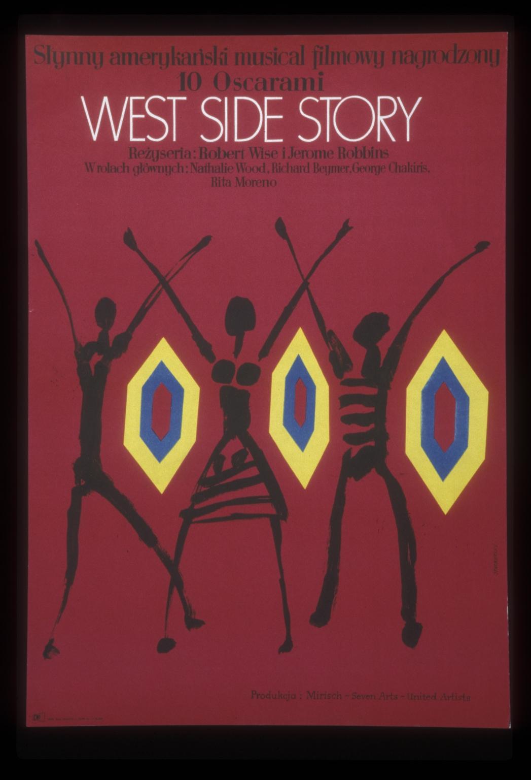 West side story: slynny amerykanski musical filmowy nagrodzony 10 Oskarami
