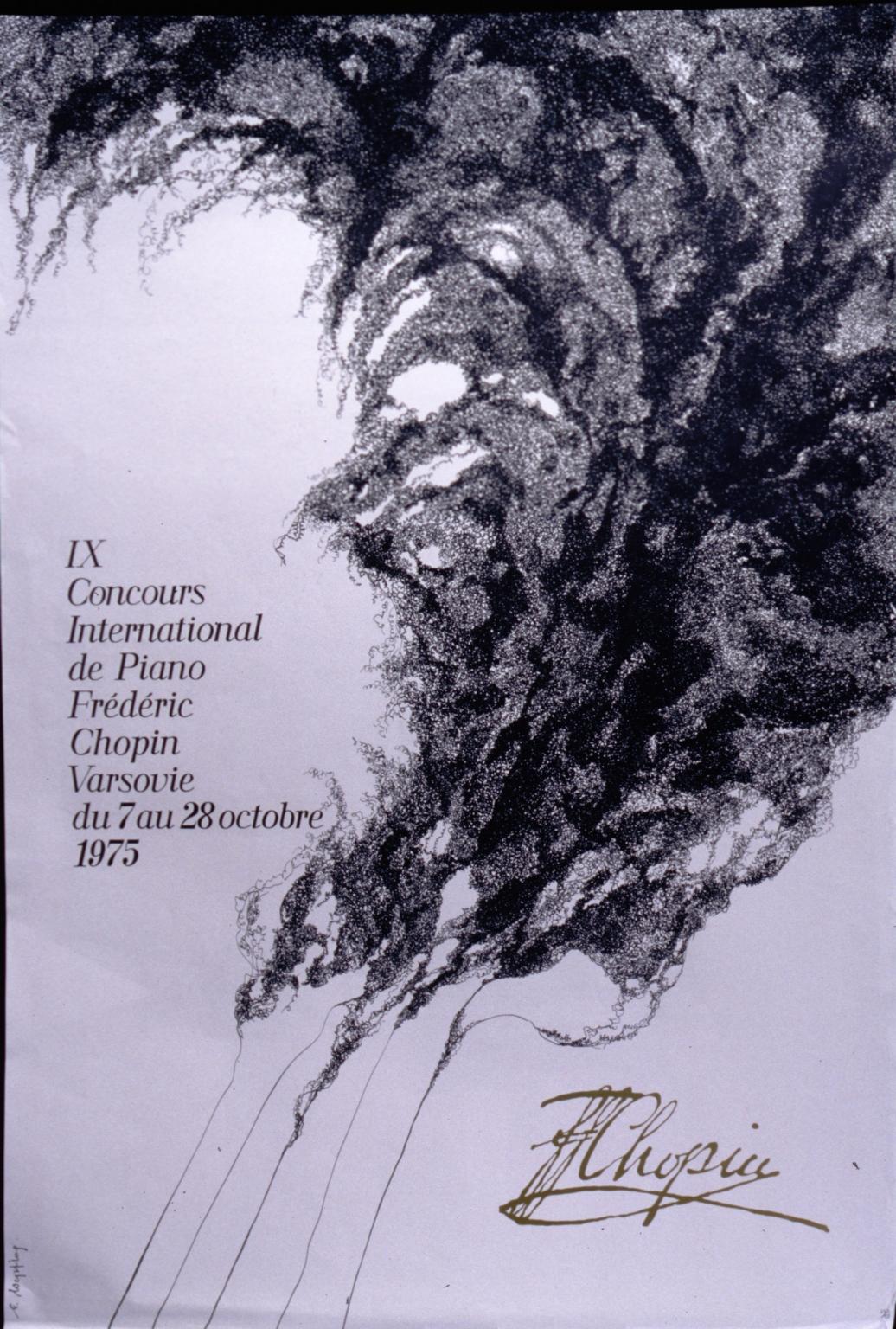 IX Concours international de piano Frdric Chopin, Varsovie, du 7 au 28 octobre 1975