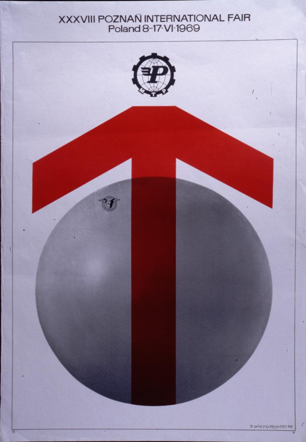 XXXVIII PoznanInternational Fair, Poland, 8-17-VI, 1969