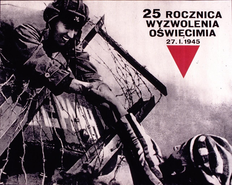 25 rocznica wyzwolenia oświęcimia 27.l.1945