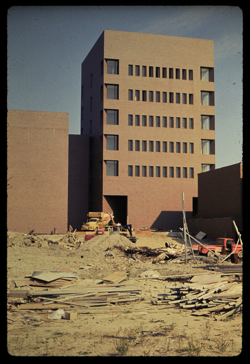 Construction of Geroge Eastman Hall