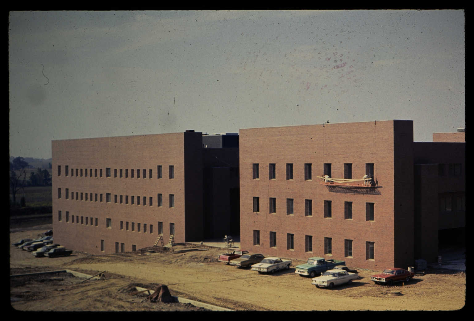 Construction of Wallace Library and Liberal Arts Hall