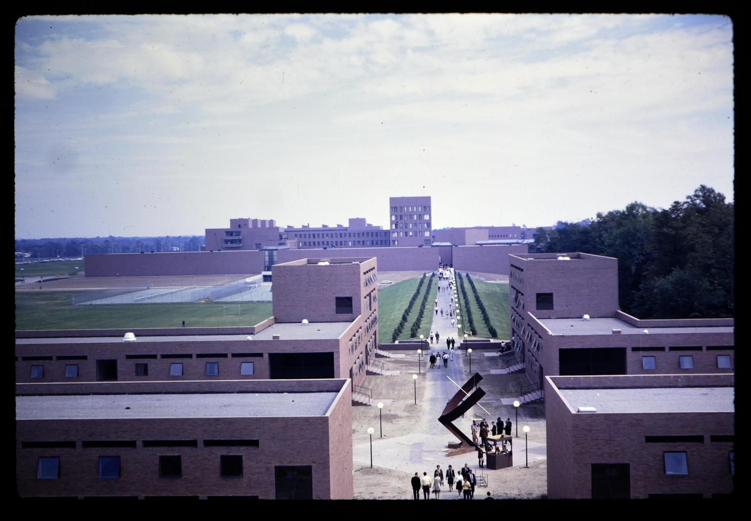 Walkway on RIT campus